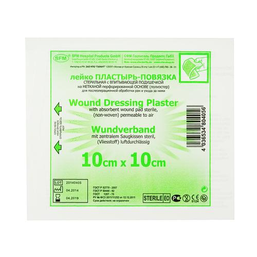SFM Wundverband steril 10cm x 10cm (1) - null