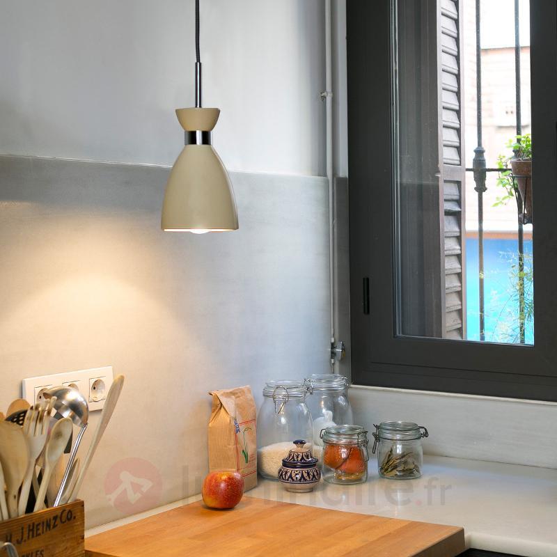 Suspension Retro beige - Cuisine et salle à manger