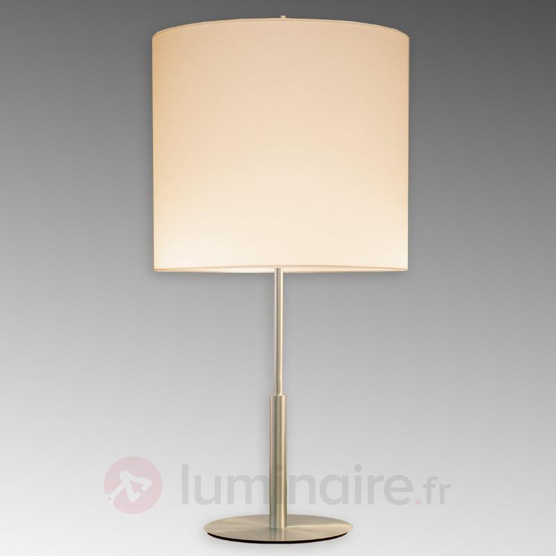 Lampe à poser épurée Tono - Lampes à poser en tissu