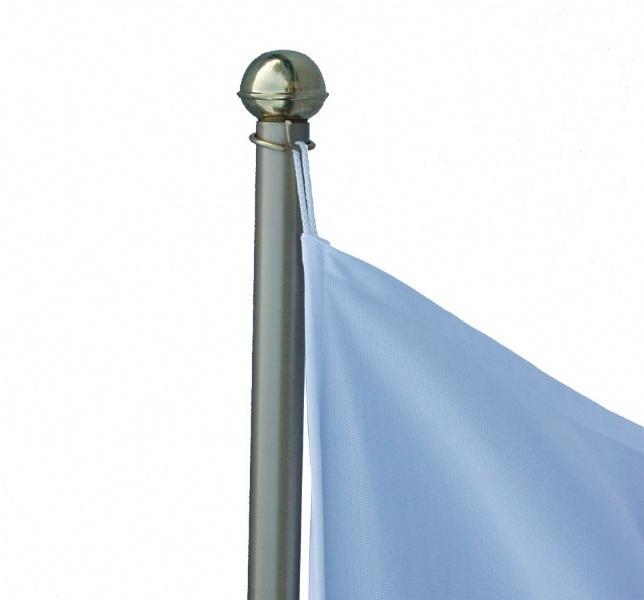 Flags - Office Flags - Base double, avec 2 drapeaux