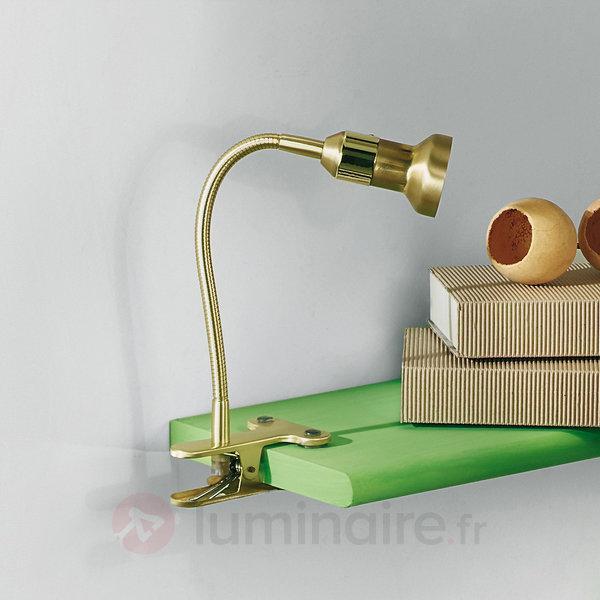 Lampe à pince Helene en laiton - Lampes à pince