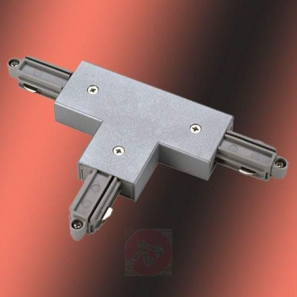 T-Connector 1 + 2 for Single-Phase HV Rail - 1-Phase Track