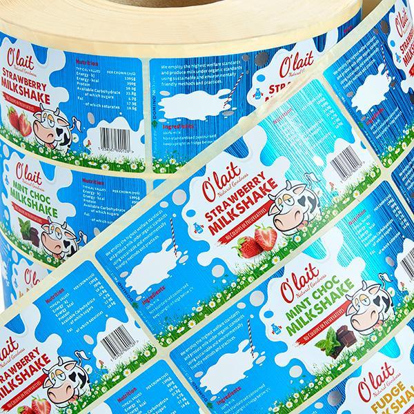 Etichette per prodotti caseari - Tutte le soluzioni per la codifica e marcatura e il labelling di etichette...