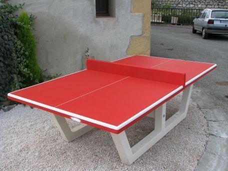 Table De Ping Pong Béton - Loisirs