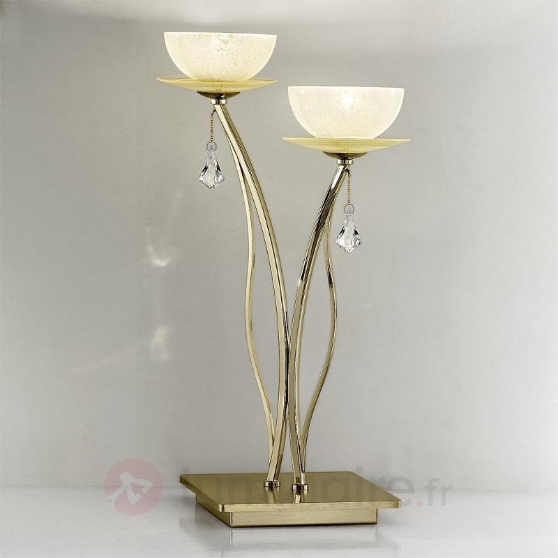 Lampe à poser en cristal Vibe - Lampes à poser en cristal