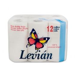 Higiénico LEVIAN Tisú P12 - Papel higiénico