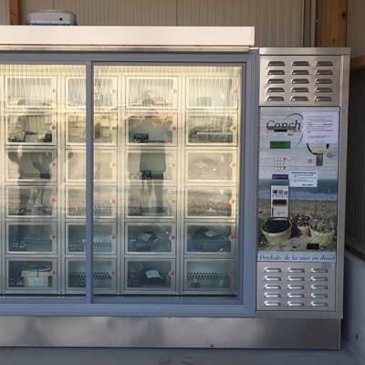 Distributeur automatiques de fruits et legumes
