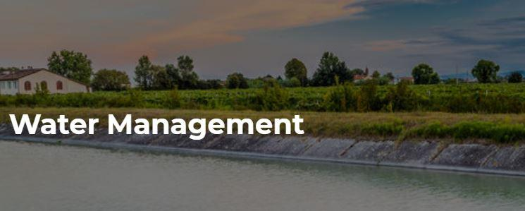 Water Management - Agricultural Water Management