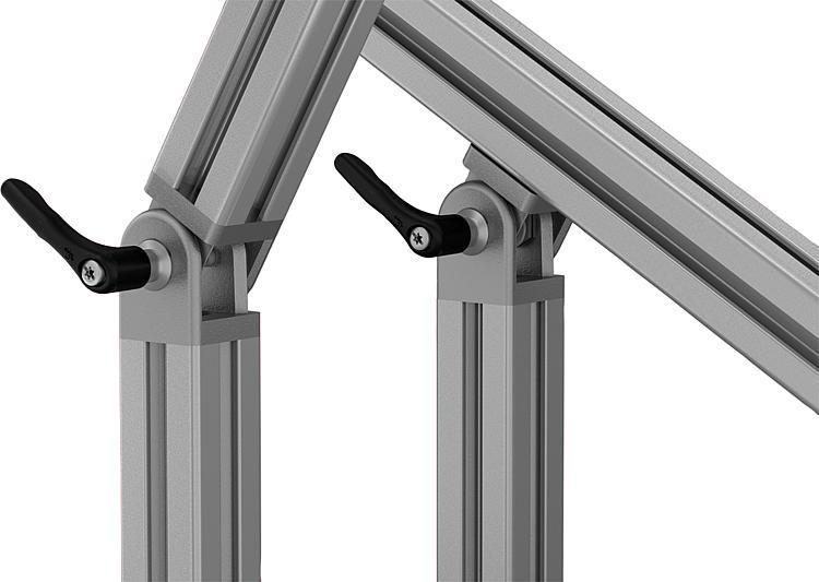 Articulation Type B Et Type I - Profilés aluminium Raccords Caches Éléments spéciaux