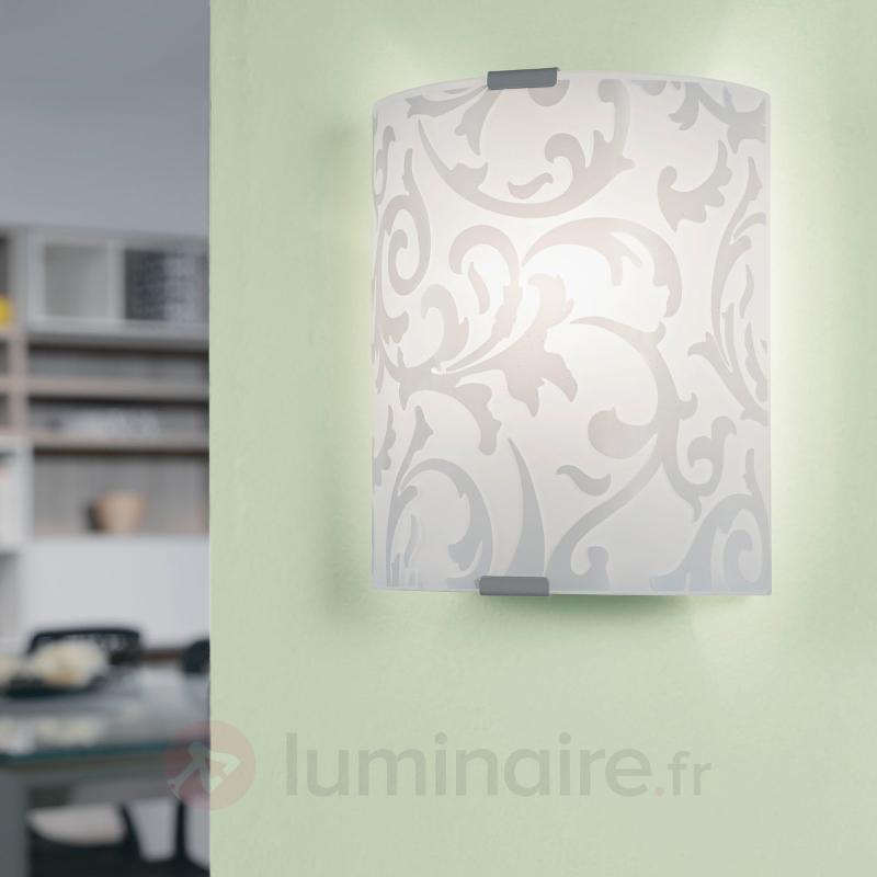 Applique décorative Grafik 18 cm - Appliques en verre