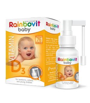 Rainbovit Vitamin D3 - null