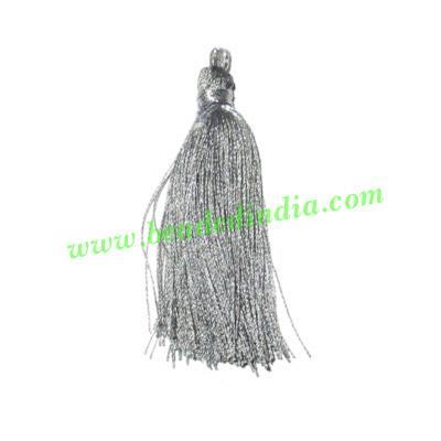 Silk Tassels 2 inch long, pack of 200 pcs., used in mala, ne - Silk Tassels 2 inch long, pack of 200 pcs., used in mala, necklaces and bracelet