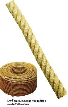 Cordes - Corde en chanvre