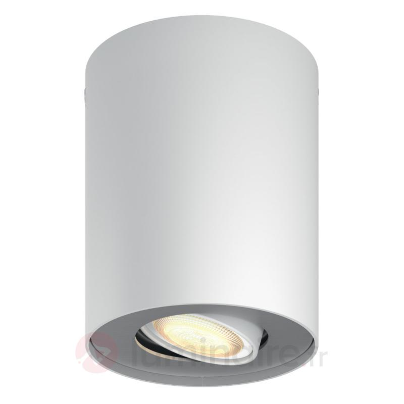 Spot LED Philips Hue réglable Pillar blanc - Philips Hue