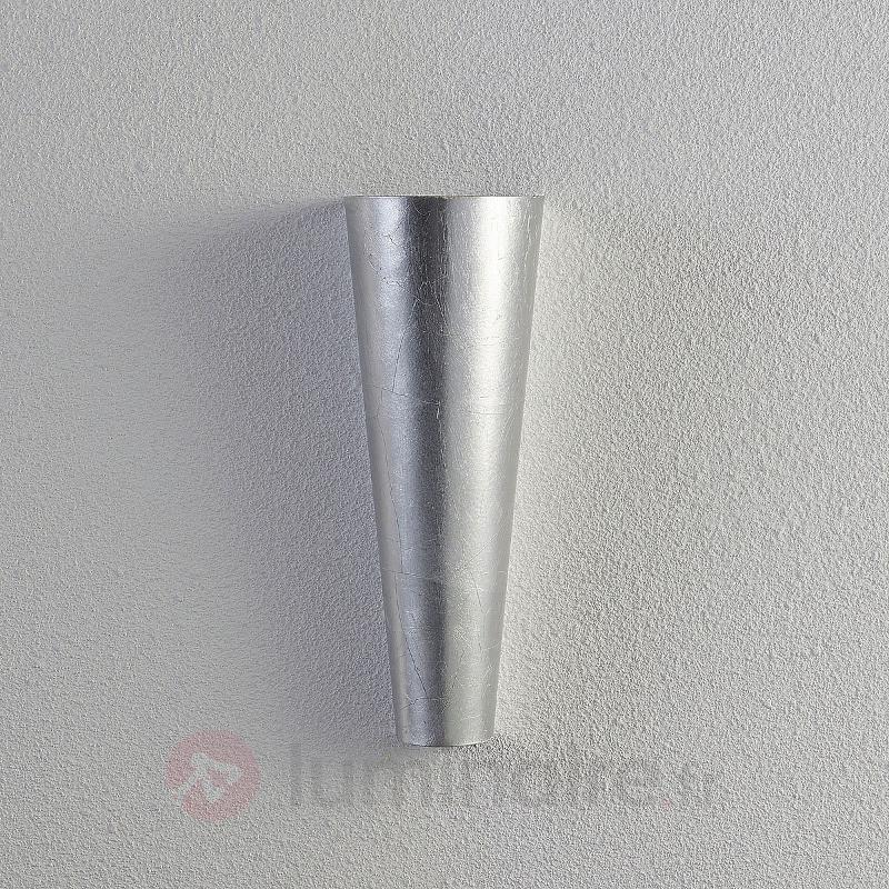 Applique LED argentée Conan à lumière indirecte - Appliques LED