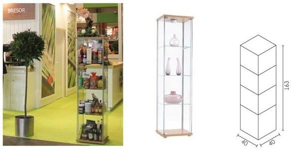 Showcases - For stands or showrooms
