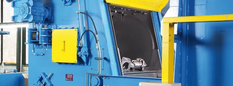 Steel Mill Tumble Blast Machine - Shot blast machines