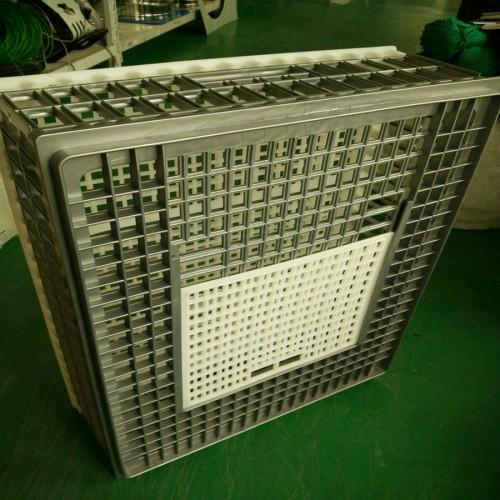 Poultry plastic chicken/duck/pigeon/dove transport cage /cra - Poultry plastic chicken/chick/broiler /duck transport cage