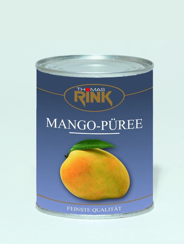 """Mangopüree, 850 ml, gezuckert - Sorte """"Alphonso"""" - null"""