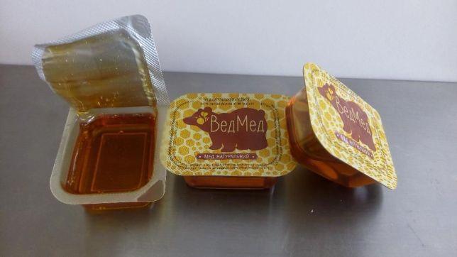 мед фасованный по 20 гр.