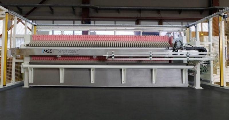 Filtre presse automatique - Le filtre presse automatique - Automatisation maximale et très efficace