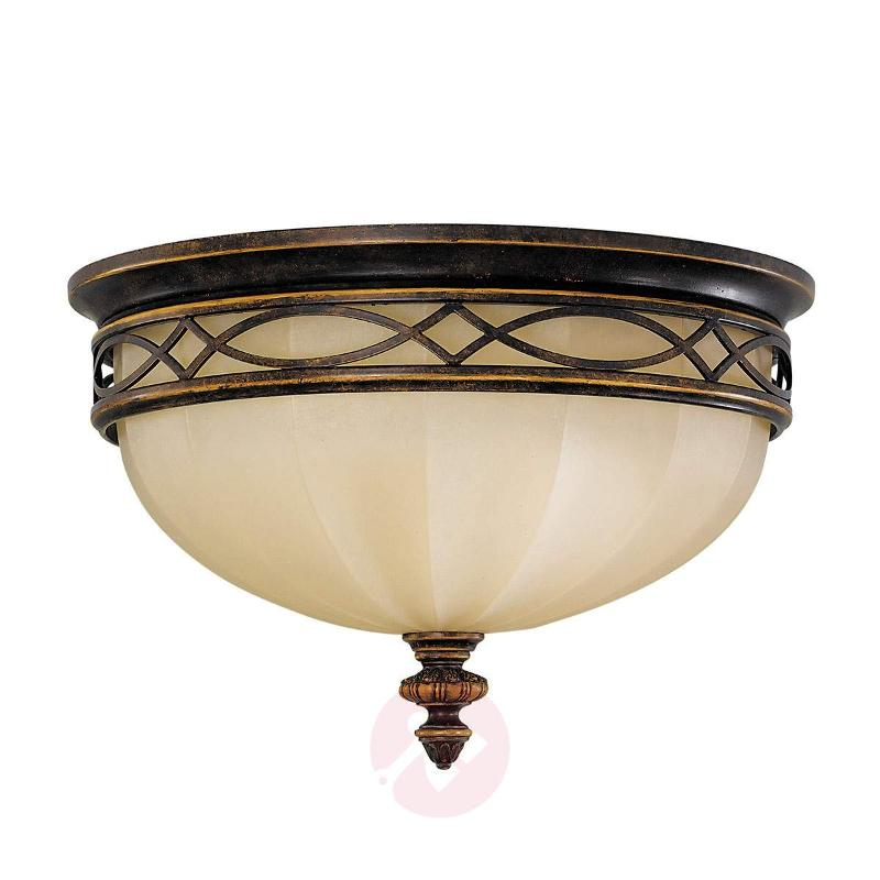 Drawing Room Ceiling Light with Scavo Glass - Ceiling Lights