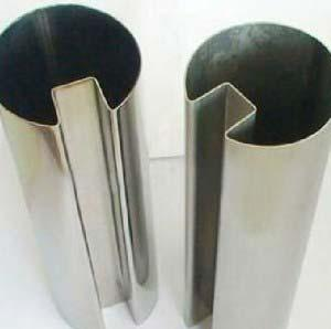 SS Slotted Tubes
