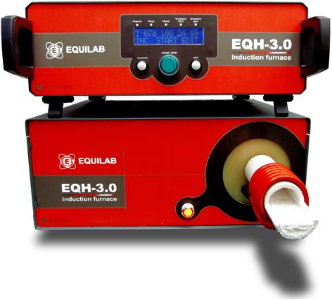 Calentador de Inducción EQH-3.0 - Calentador para el procesamiento de muestras de acero y metálicas en general