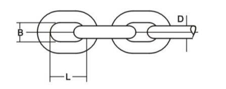 Welded Link Chain - UK Standard Welded Link Chain