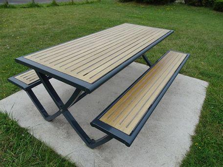 Table Pique Nique Compact Pic Nic Horizon - Tables De Pique-Nique