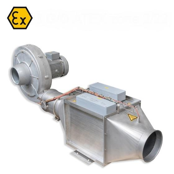 Explosion proof electrical process heater
