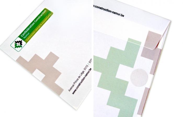Enveloppe - enveloppe full debords quatre cotes