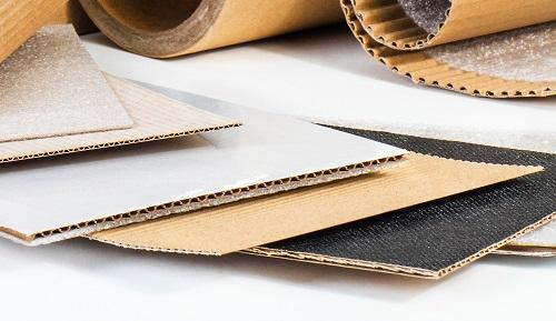 Plancha cartón ondulado antideslizante - También plastificada o con otros tratamientos