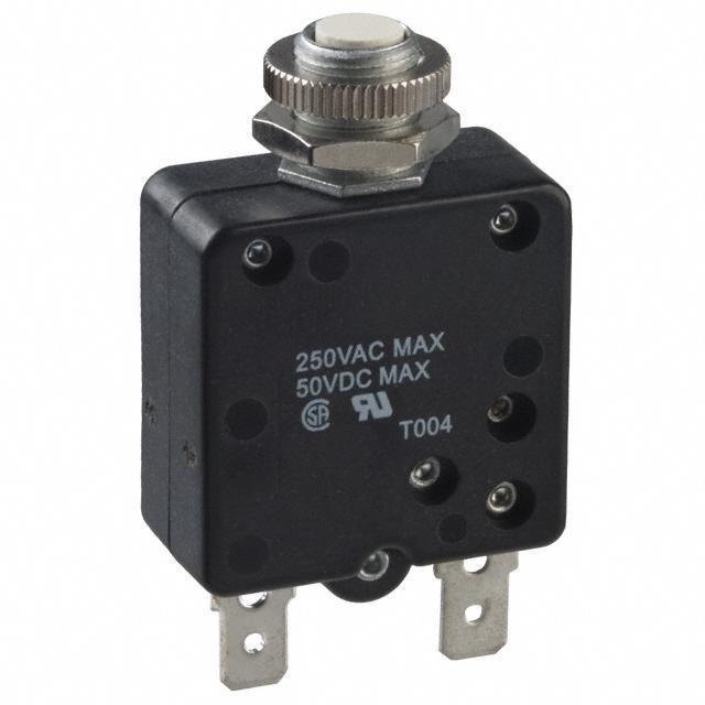 CIR BRKR THRM 7A 250VAC 50VDC - TE Connectivity Potter & Brumfield Relays W58-XB1A4A-7