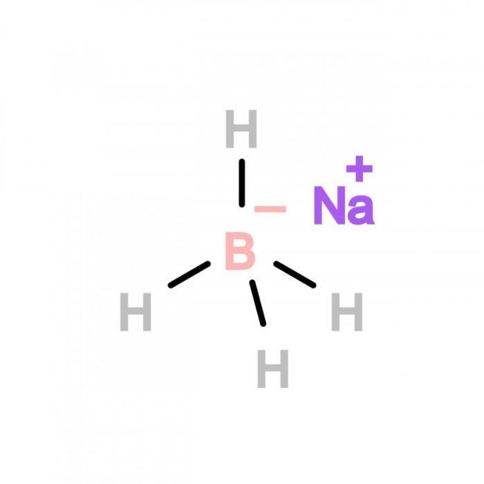 Borohidruro de sodio solución 12/40 - conteniendo 12% borohidruro de sodio y 40% soda caustica