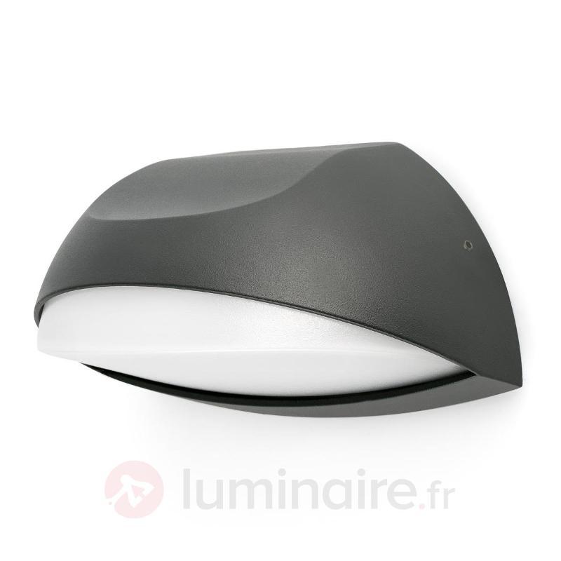 Éclairage de numéro de maison LED Num, gris foncé - Numéros de maison lumineux