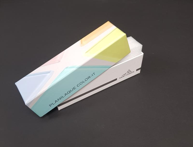 Coffret Cloche Carton - Impression quadri +pelliculage mat Type boite soins
