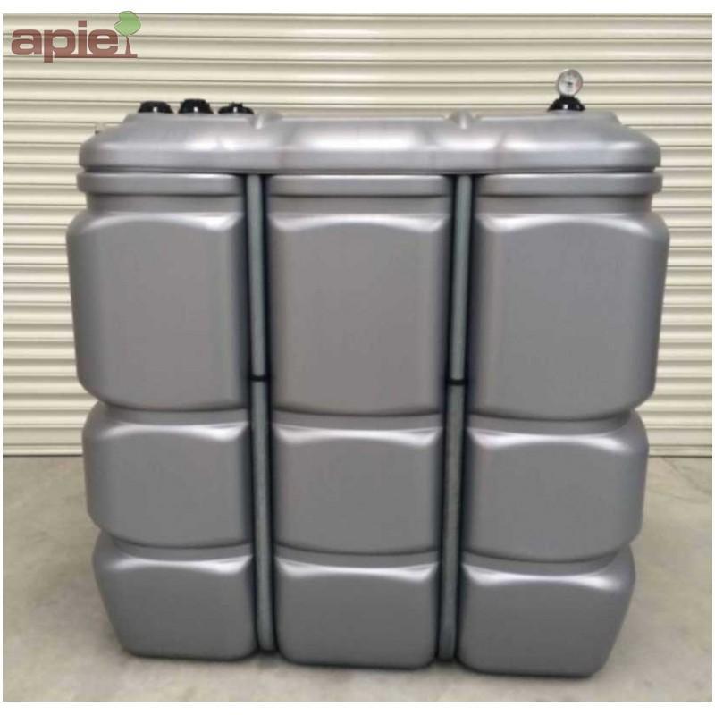 Cuve 1500 L pour le stockage d'huiles  - Cuves HUILES / GAMME CFPE (INTÉGRALE)