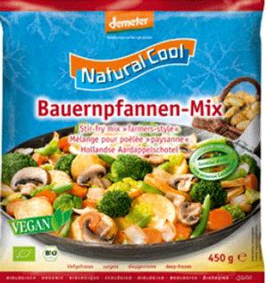Poêlée fermière de légumes - Légumes biologiques et surgelés