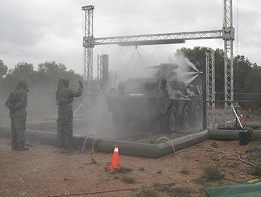 EDEM VEHICLES - Massive Decon Station for Vehicles Decontamination