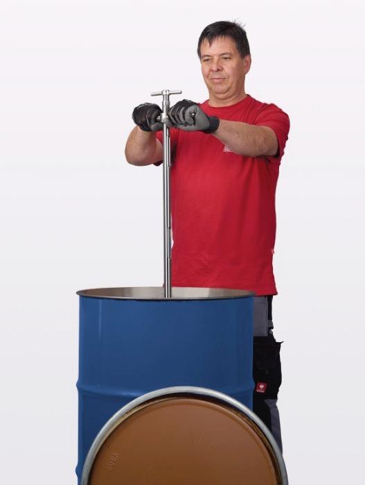 Perforador multicapa - Dispositivo de muestreo para sustancias muy compactadas, muestreo de todas las c