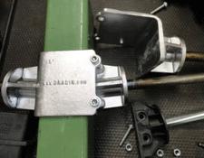 Support de bobine textile - Pièces en aluminium par coulée coquille dans la construction mécanique