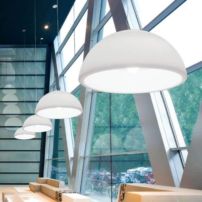 White Hanging Ohps designer hanging light - Pendant Lighting