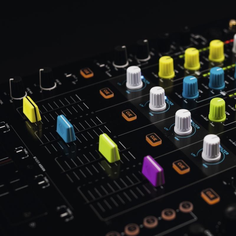 DJ-Zubehör - Reloop Fader Cap Set yellow