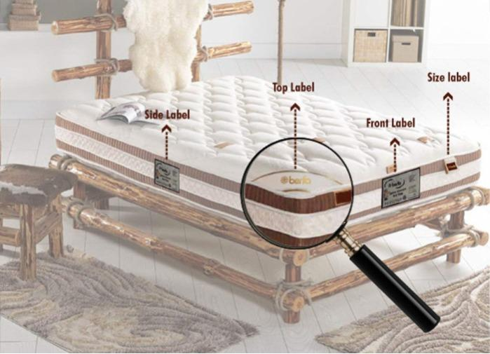 Mattress Label - Berfa Group is one of the biggest mattress label manufacturer