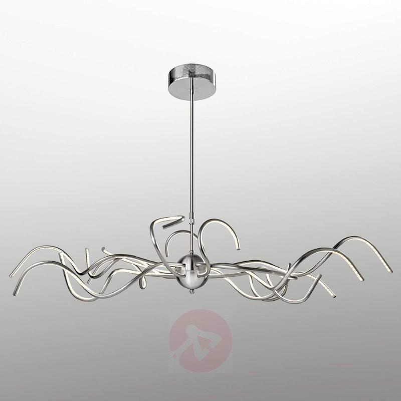 Extravagant LED hanging light Octopus - design-hotel-lighting