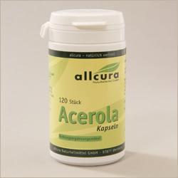 Acerola-Kapseln - Nahrungsergänzung