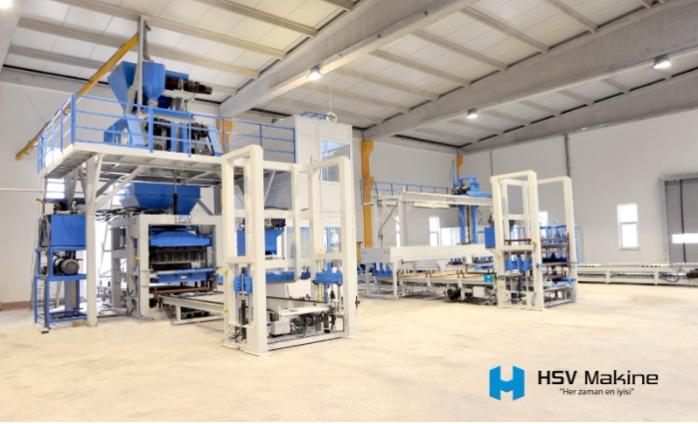 Concrete block making machine - Block making machine
