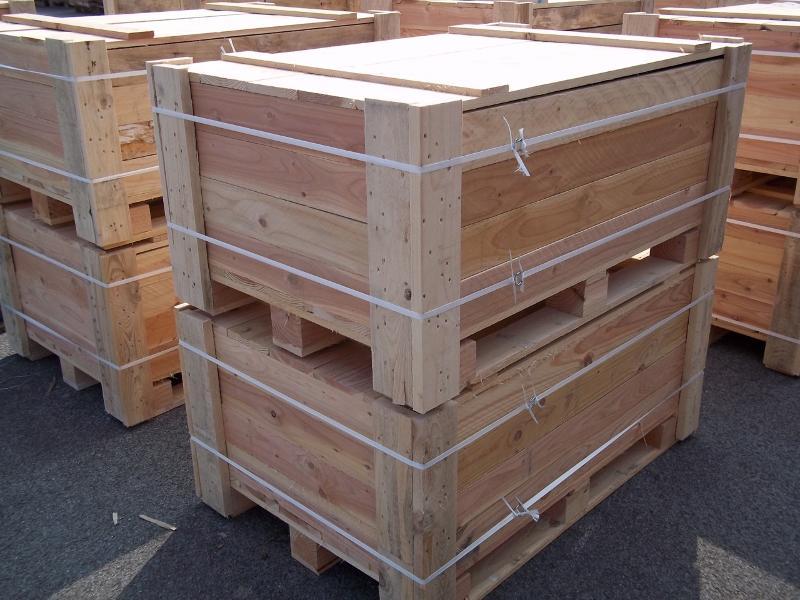 Palettes - caisse 1200 x 800 neuve avec