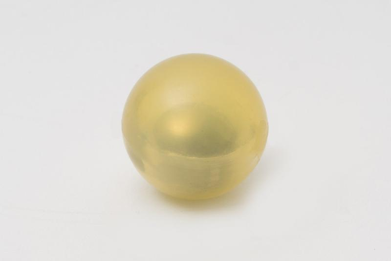 Ballast balls in EPDM - Rubber or polyurethane balls with a heavy ballast in the core.